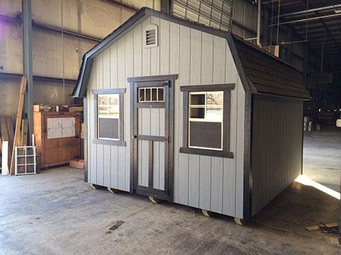 Standard-12×12 standard painted barn gable overhang decorative gable vent single transom door & Standard-12x12 standard painted barn gable overhang decorative gable ...
