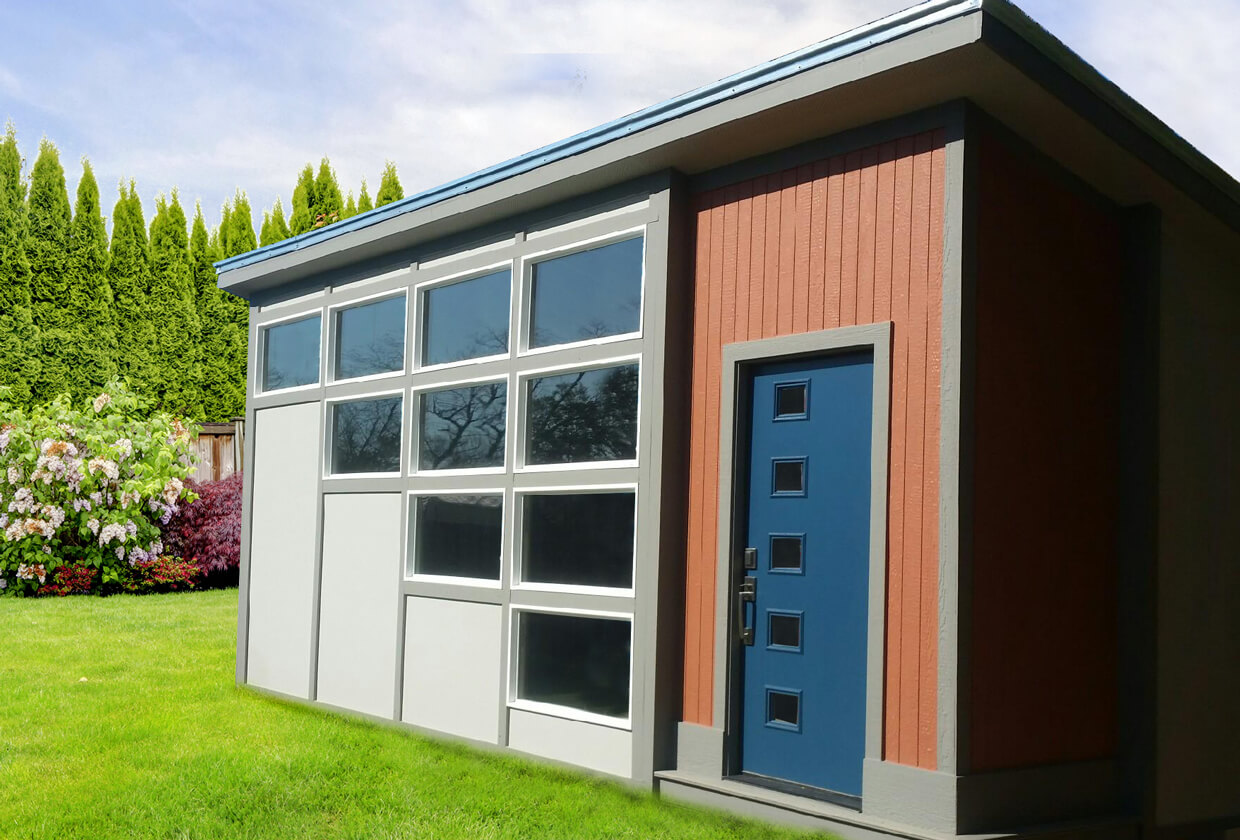 Modern Series Storage Shed