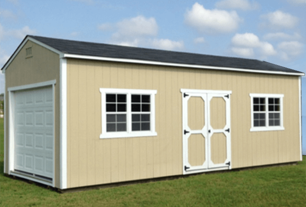 Monster Series Storage Shed