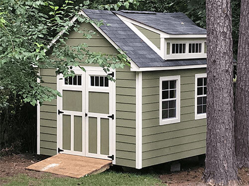 custom shed builder wake forest nc