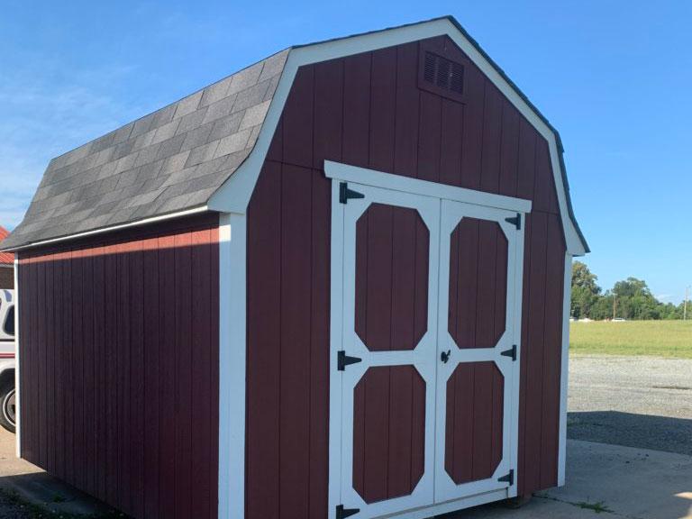 10X12 standard barn shed
