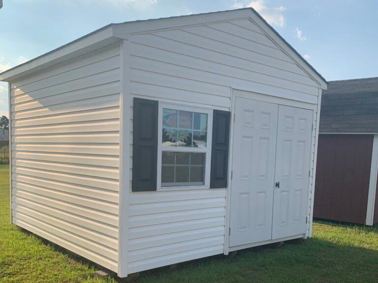 12X12 standard a-frame shed vinyl 6798