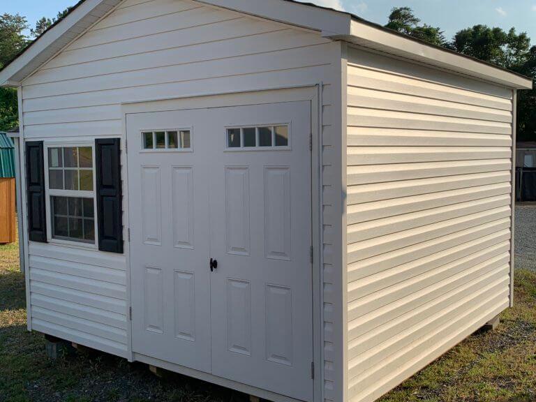 12X12 standard a-frame shed vinyl