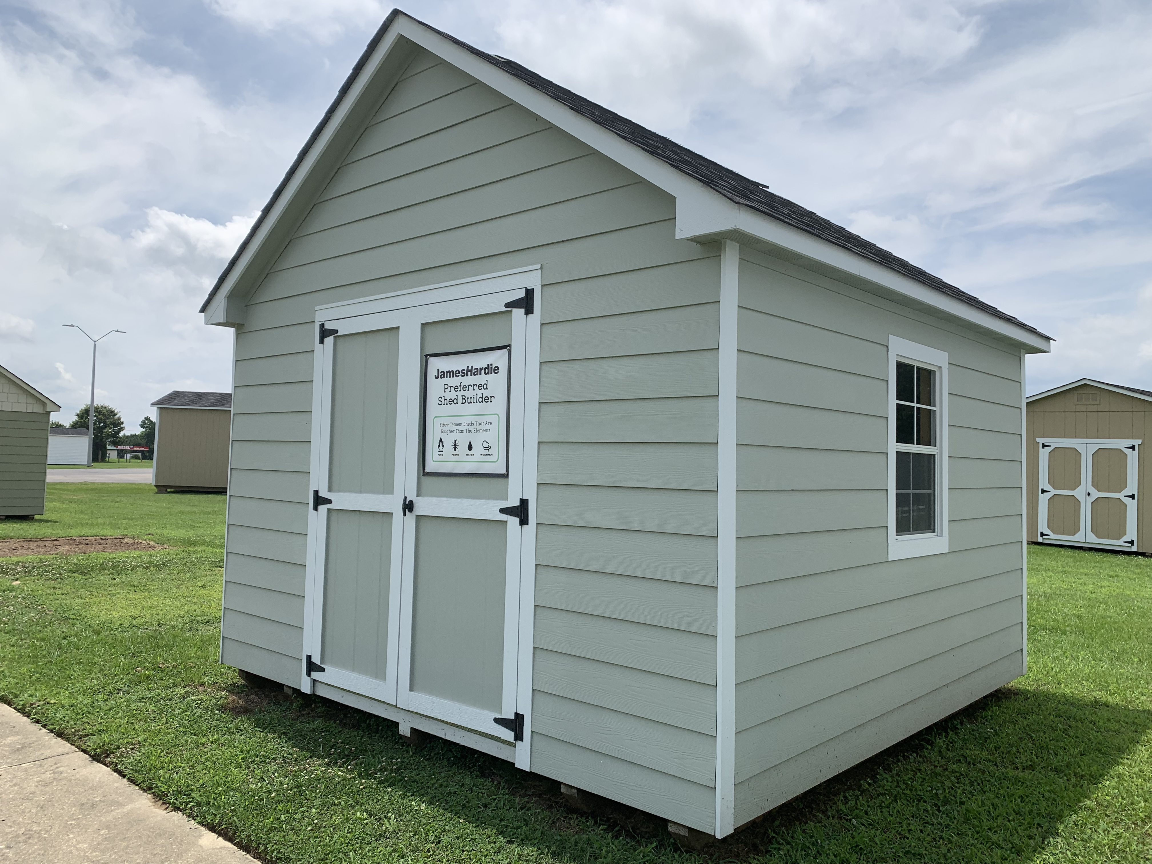 33x33 Craftsman Steep-Pitch Shed $33  The Shed Depot of NC