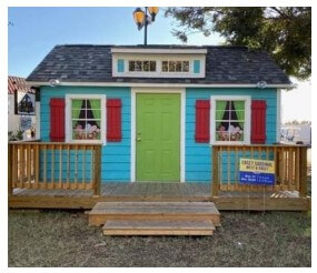 Shed with Custom Exterior Paint Options