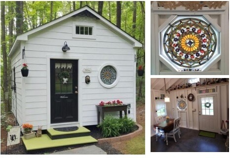 Shed-with-Custom-Stained-Windows