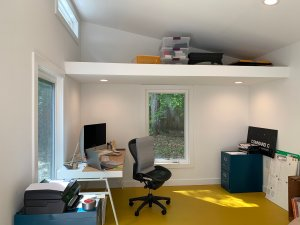 office shed interior